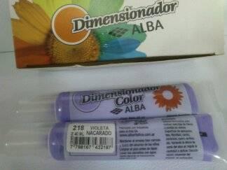 Dimensionador Color Alba 40 Ml 218 - Violeta Nacarado