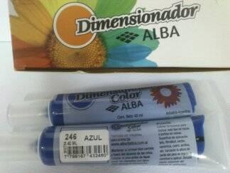 Dimensionador Color Alba 40 Ml 246 - Azul