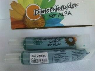 Dimensionador Color Alba 40 Ml 258 - Verde