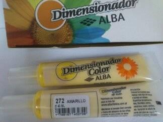Dimensionador Color Alba 40 Ml 272 - Amarillo