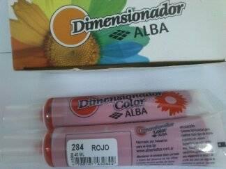 Dimensionador Color Alba 40 Ml 284 - Rojo