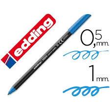 Marcador Edding E1200 Azul