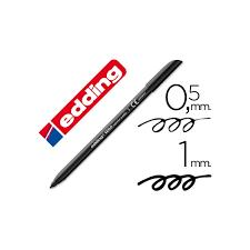 Marcador Edding E1200 Negro