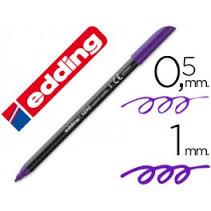 Marcador Edding E1200 Violeta