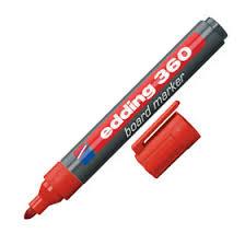 Marcador Edding E360 P/pizarra Rojo