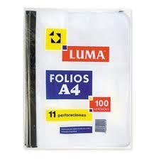 Folio Luma A4 X 100 Standard
