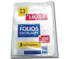 Folio Luma Escolar X 100 Standard