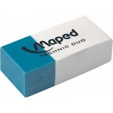 Goma Maped Technic Duo Tinta/lapiz Caja X 36 Un