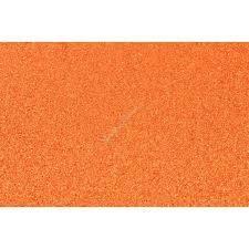 Cartulina 35x50 Cm Glitter 250 Gr Naranja Paq X 10 Unid