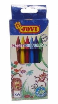 Plastipinturitas Jovi Blister X  6 Unid