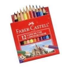 Lapices De Colores Faber Ecolapiz X 12 Cortos