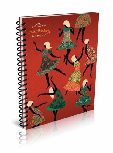 Cuaderno Arte L. Varsky 16x21 C/esp X 80 Hjs Rayado