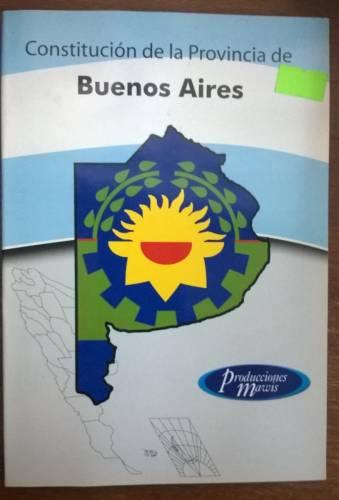 Libro Constitución Provincial Mawis