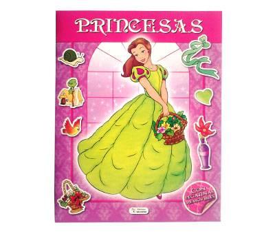 Libro Saldaña Princesas Panorámicas