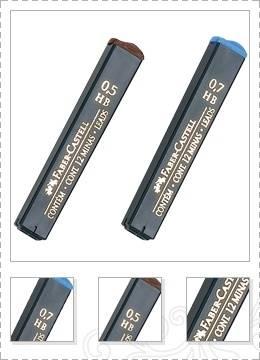 Minas Faber De Grafito Tubo X 12 Unid 0,7mm Hb Caja X 12 Un