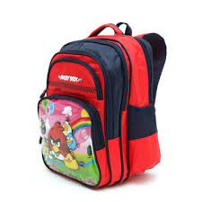 Mochila Angry Birds Espalda 16 C/bols 42647