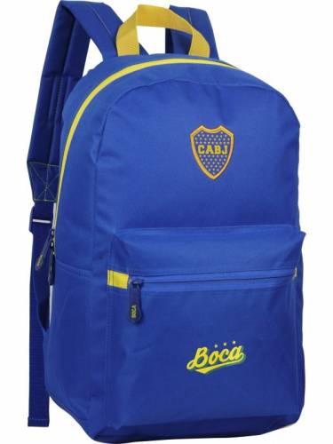 Mochila Boca Juniors Espalda 17' Bj54 Estampada