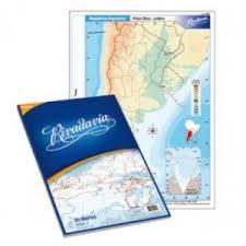 Mapa Rivadavia N°3 Físico Político America Del Norte 40 Hjs