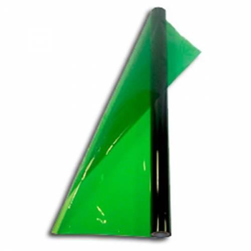 Papel Celofan Verde Oscuro X 10 Unid