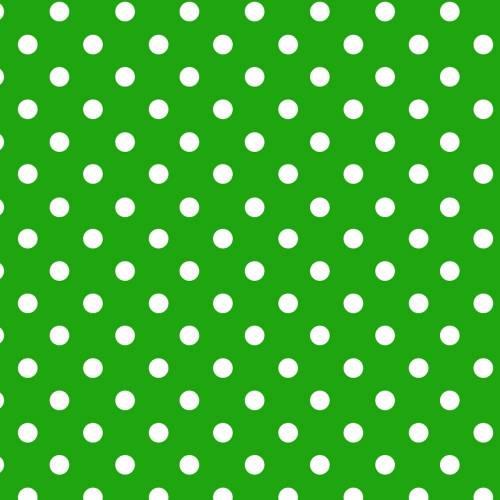 Papel Lunares Blanco Fondo Verde