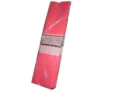 Papel Crepe Rosa Paq X 10 Unid