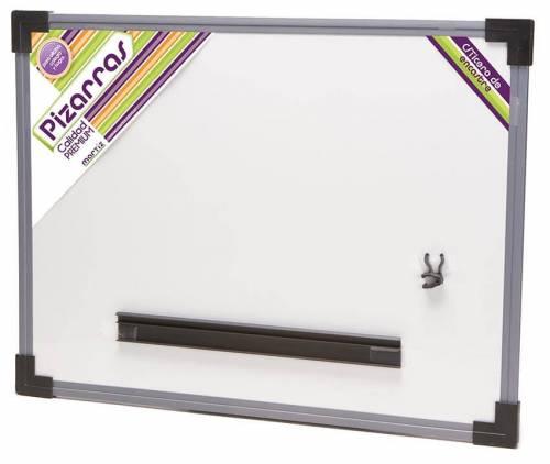 Pizarra Blanca Nº4 Marco Plastico 35x55cm
