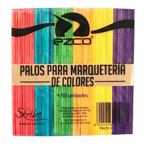 Palito Helado Color Paq X 50 Unid