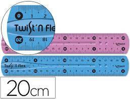 Regla Escolar Maped Twist`n Flex 20 Cm Ref:279210