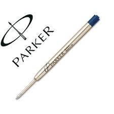 Repuesto P/boligrafo Parker Azul Fino