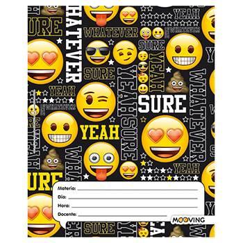 Separador De Materias Escolar Mooving Emoji 01179