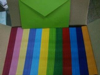 Sobre Multicolor Peque Comercial Caja X 600 (12 Col)