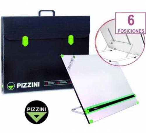 Tablero De Dibujo Pizzini 7744 C/atril Y Portatablero 50x60