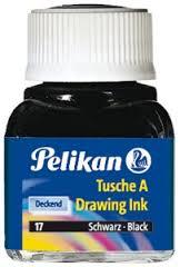 Tinta China Pelikan 15 Cm3 Negro