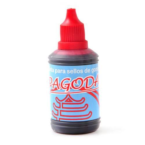 Tinta Para Sellos Pagoda  35 Cm3 Rojo
