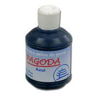 Tinta Para Sellos Pagoda  35 Cm3 Azul