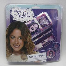 Set Escolar Violeta Cresko Vl181 X 5 Unid